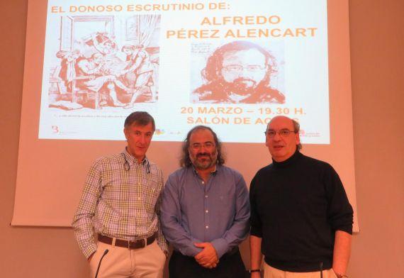2 Jesús Ángel Clerencia, Alfredo Pérez Alencart y José María Muñoz Quirós