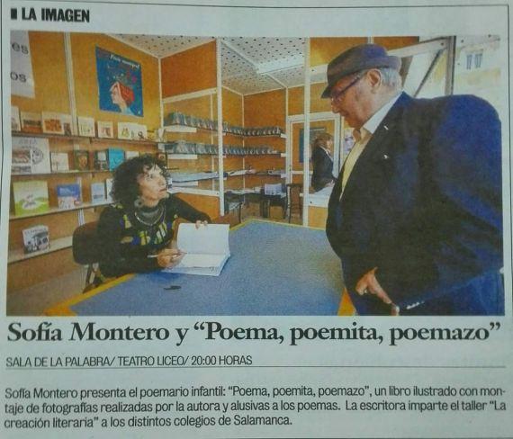20 Sofía Montero firmando su libro