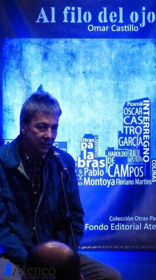 3 Omar Castillo y detrás Al filo del ojo,