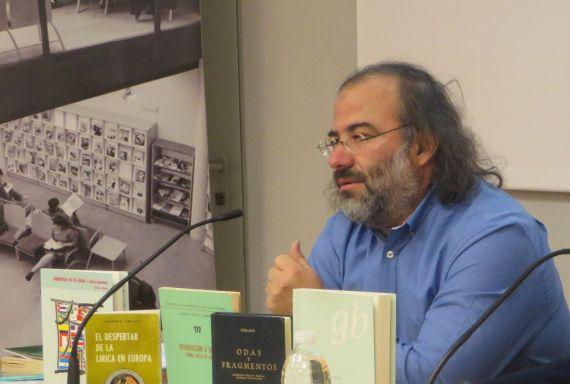 3 Un momento d ela intervención de Alfredo Pérez Alencart