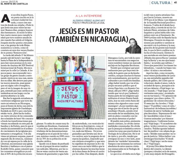 37 Jesús es mi pastor, también en Nicaragua