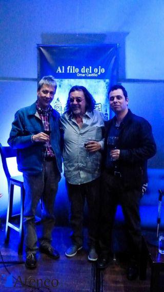 5 Omar Castillo, Víctor Bustamante y Néstor López