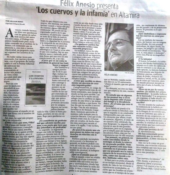 8 Entrevista de Lilliam Moro a Félix Anesio