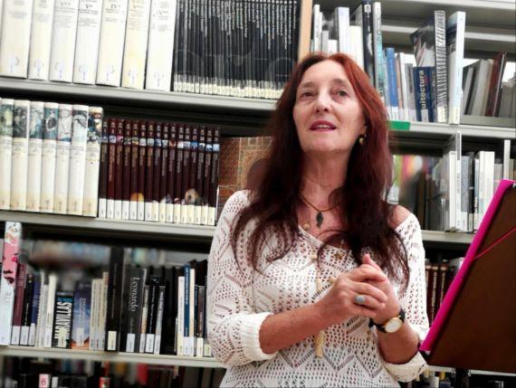 9 Marina Aoiz en Biblioteca de Zizur