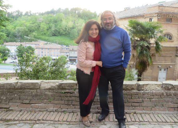 7 Jacqueline y Alfredo, en Mantua (foto de Gianni Darconza)