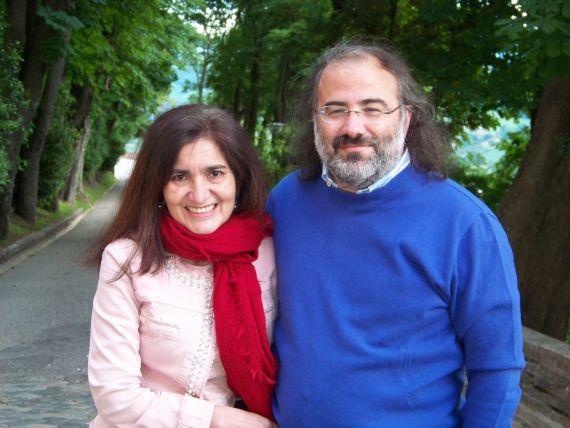 3 Jaqueline Alencar y Alfredo Pérez Alencart en Urbino (foto de Gianni Darconza)
