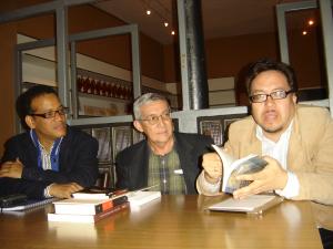 4 Belliard (República Dominicana), García Ramos (Cuba) y Chávez Casazola, Lectura en Béjar
