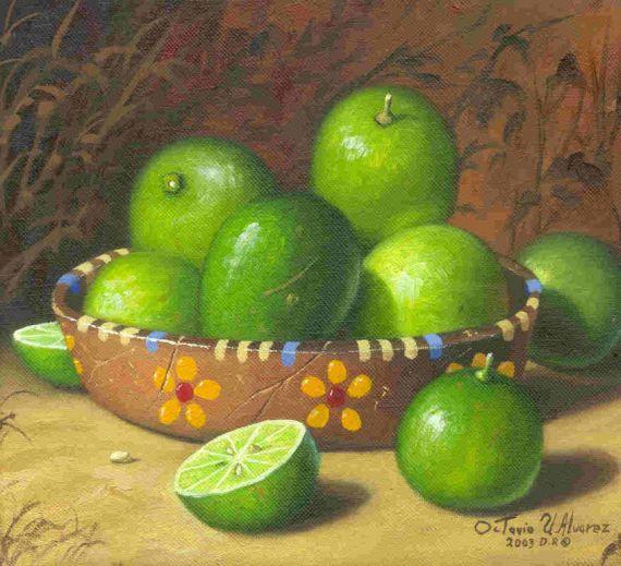 7 Limones, obra de octavio Urbina Álvarez