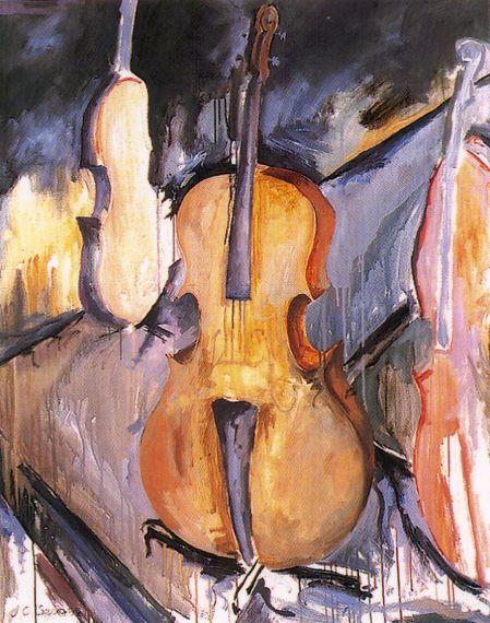 3 Violín, de Carlos Fernández Seoane