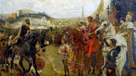 8 Rendición de Granad, de Francisco Pradilla