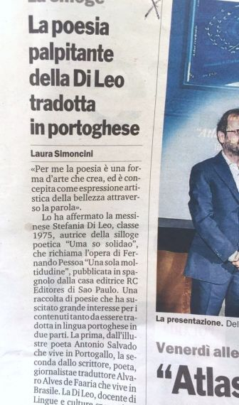 18 Noticia de libro publicado por Stefania Di Leo (Italia)