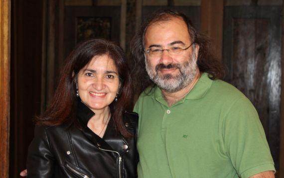 3 Jacqueline Alencar y Alfredo Pérez Alencart en Urbino (foto de Gianni Darconza)