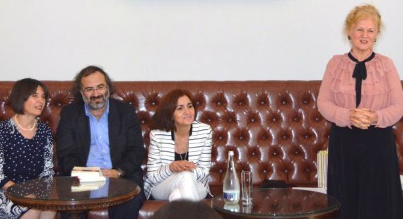 4 Gabriela Gîrmacea, A. P. Alencart, Jacqueline Alencar y Carmen Bulzan (Bucarest 2017. Foto de Dragos Ionita)
