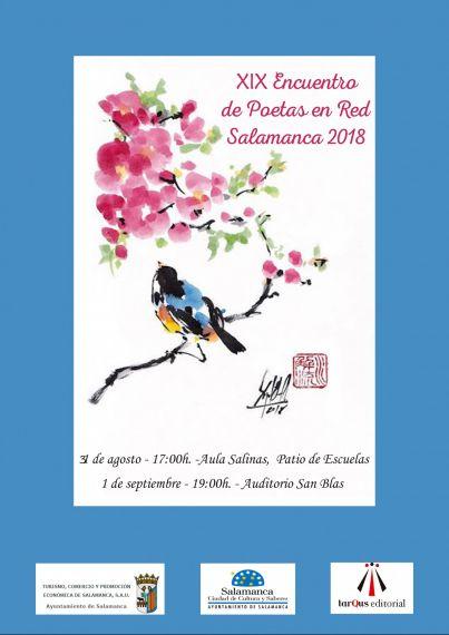 XIX ENCUENTRO DE POETAS EN RED cartel