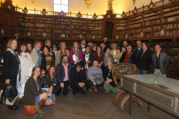 6 Otra visita de los poetas. Fotografía de José Amador Martín