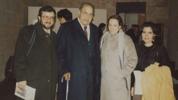 11 Alencart, Gastón Baquero Carmen Ruiz Barrionuevo y J. Alencar en Salamanca (1994)