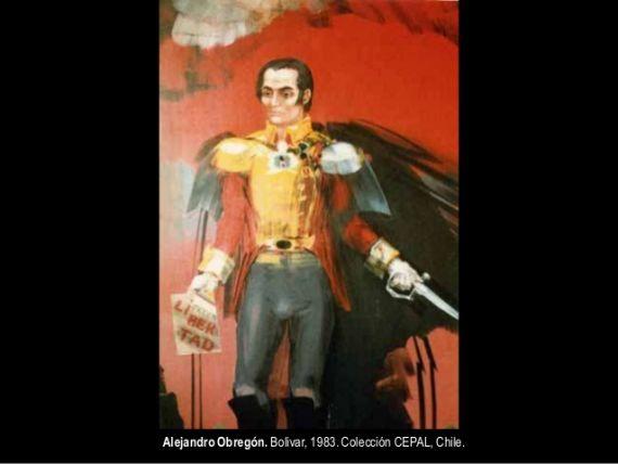 3 Bolívar, de Alejandro Obregón