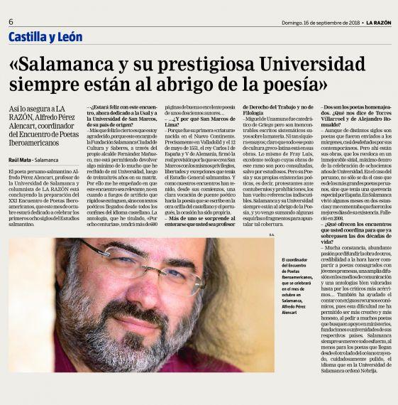 3 Entrevista a Alfredo Pérez Alencart sobre el XXI Encuentro