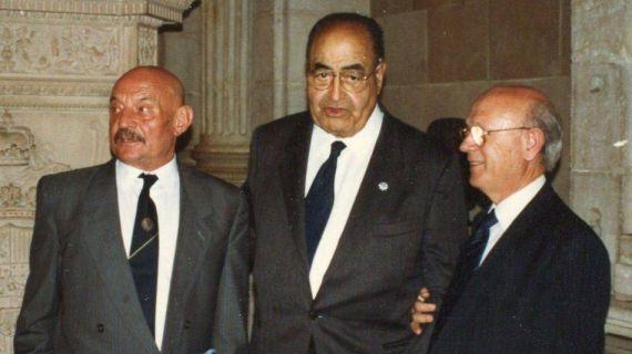 3 Hierro, Baquero y Ortega Carmona (Foto de A. P. Alencart, 1993)