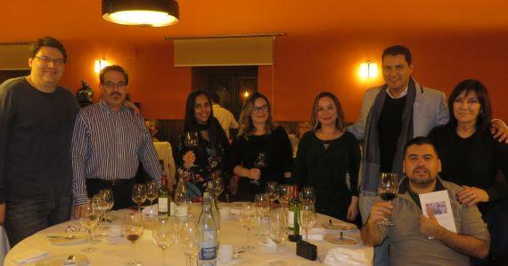 4 Con Boris Rozas, Juan Carlos Olivas, Ángela Gentile y Marcelo gatica, entre otros poetas latinoamericanos