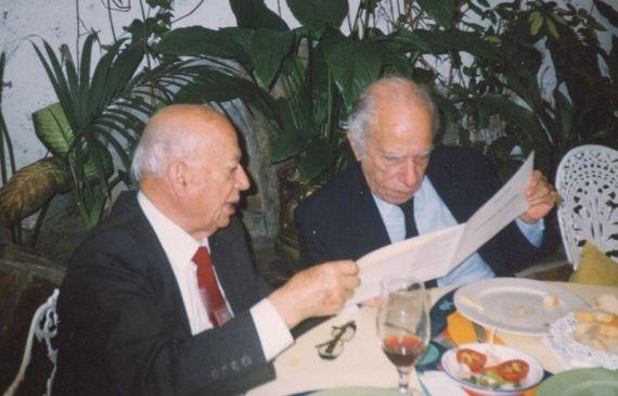 4B Gonzalo Rojas y Alejandro Romualdo en Madrid (foto de A. P. Alencart)