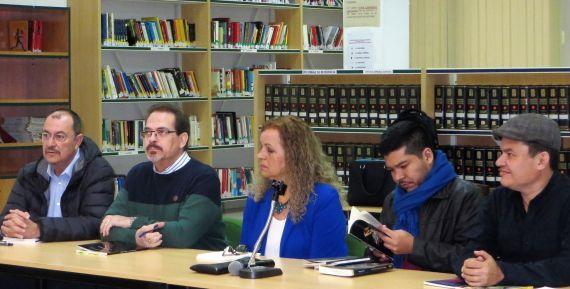 5 Santano, Redondo, Álvarez, Alvarado y Anchía, en la lectura celebrada en el Fray Luis de León