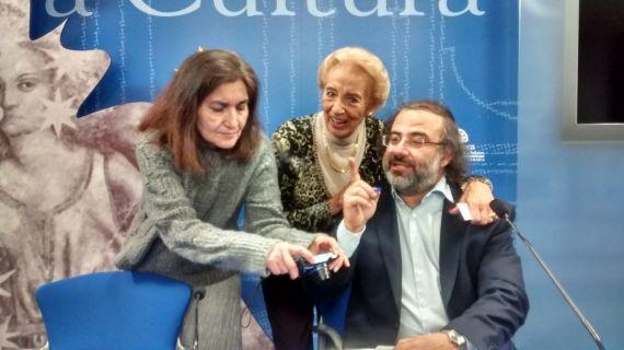 6 Jacqueline Alencar, Pilar Fernández Labrador y A. P. Alencart (foto de Eelena Díaz Santana)