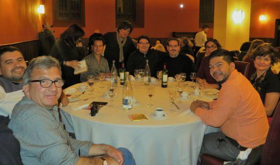 7 Con Cabarcas, Gatica, Gentile, Santiago, Salvado, Rozas, Belmonte, Pérez López y Alvarado