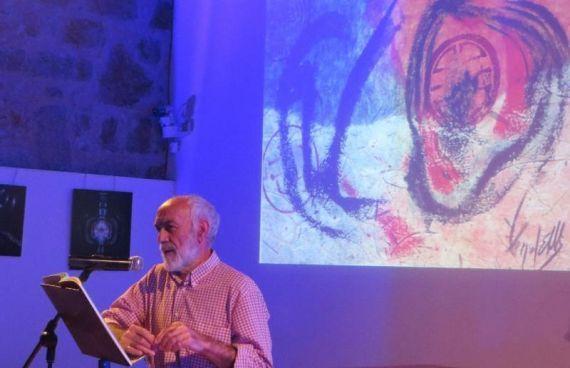 7 El poeta y ensayista abulense Julio Collado (foto de jacqueline Alencar)