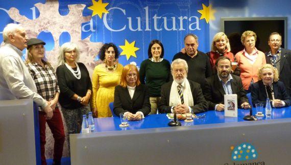 7 Lovrenčić y Bilosnic, con poetas Salmantinos