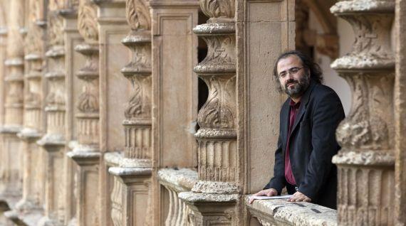 1 Alfredo Pérez Alencart en el Colegio Fonseca de la Usal (foto de David Arranz, 2013)