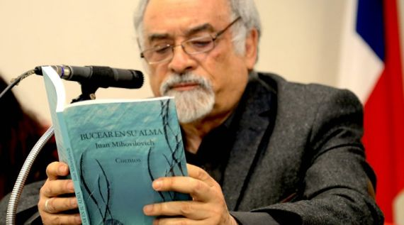 1 El escritor chileno Juan Mihovilovich