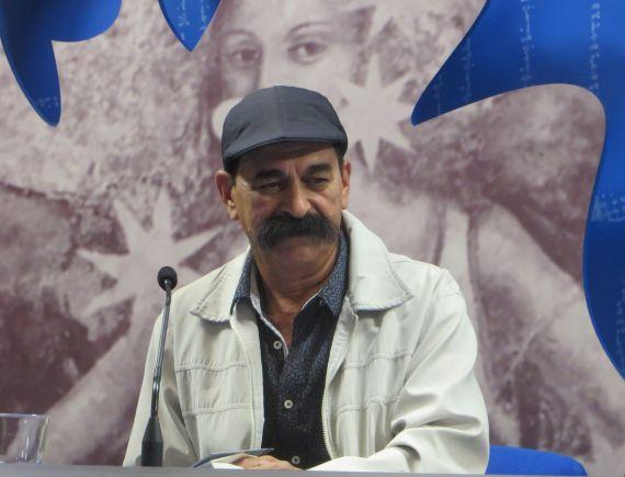 1 El poeta colombiano Juan Mares (foto de Jacqueline Alencar)