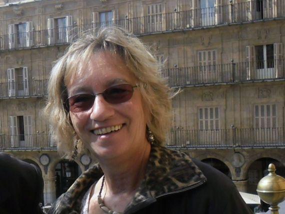 1 En el balcón del Ayuntamiento de Salamanca (foto de Lisete Henriques)