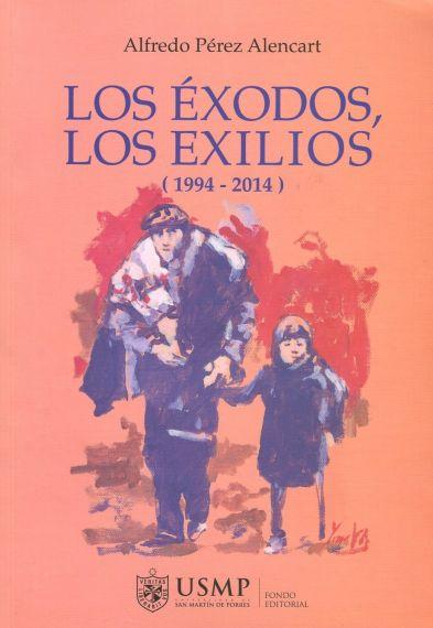 2 Portada de Los éxodos, los exilios, con pintra de Miguel Elías