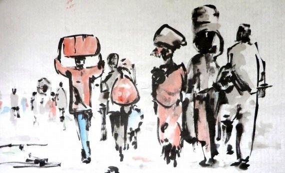 3 Dibujo de Miguel Elías