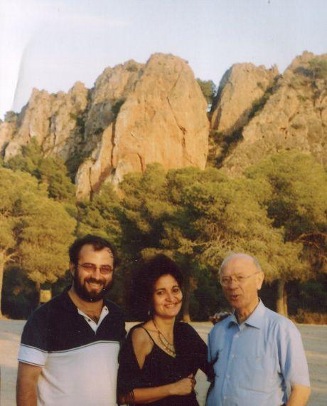 4 Alfredo Pérez Alencart, Jacqueline Alencar y Alfonso Ortega