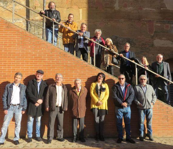 4 Algunos de los poetas (del XV Encuentro (foto de Jacqueline Alencar)