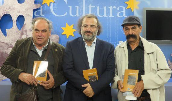 4 José Amador Martín, A. P. Alencart y Juan Mares, tras la rueda de prensa (Jfoto de Jacqueline Alencar)