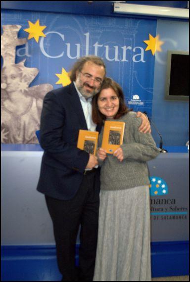 7 A. P. Alencart y Jacqueline Alencar (foto de José Amador Martín)