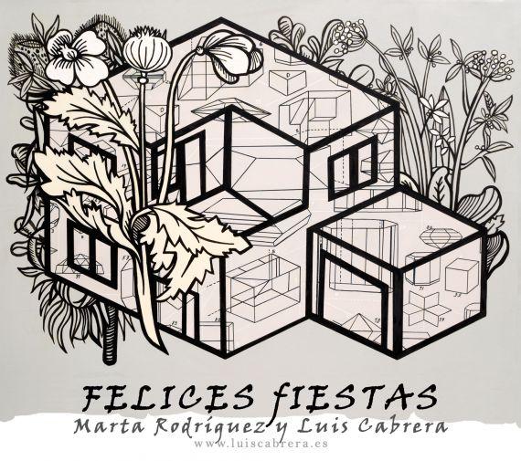 10 Felicitación del pintor cubano-español Luis Cabrera y su esposa