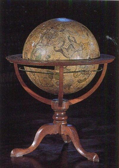 10 Una de las esferas de Torres Villarroel, en la Biblioteca Histórica de la Universidad