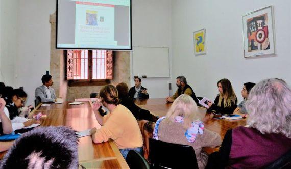 11 Acto de presentación del libro Poemas em ponto de osso, e nla Universidad de Salamanca (Foto Jacqueline Alencar)