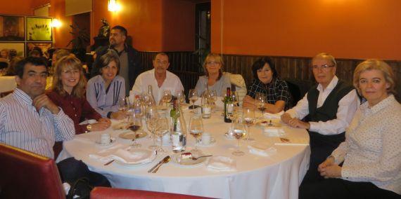 12 Cena en el Colegio Fonseca de la Universidad de Salamanca (foto de Jacqueline Alencar)