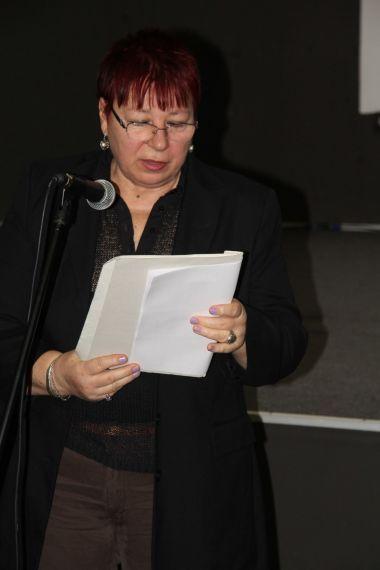 13 La poeta y traductora Violeta Boncheva