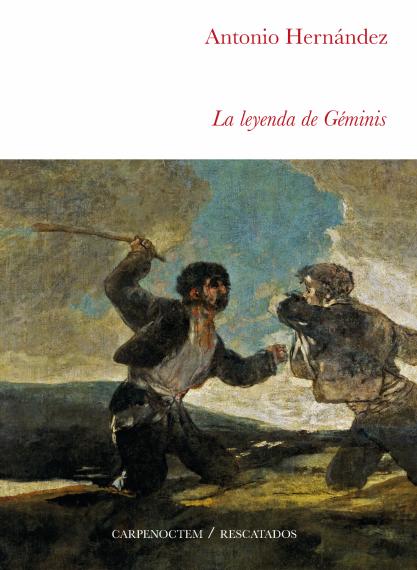 2 Portada de la novela de Antonio Hernández