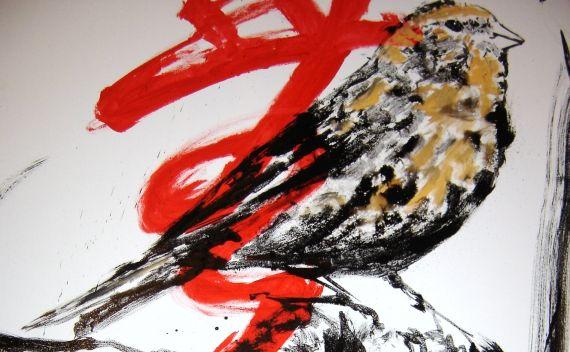 23 Persistencia del pájaro, de Miguel Elías