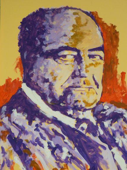 3 Segundo retrato de Gastón Baquero, por Miguel Elías (Salamanca, 2018)