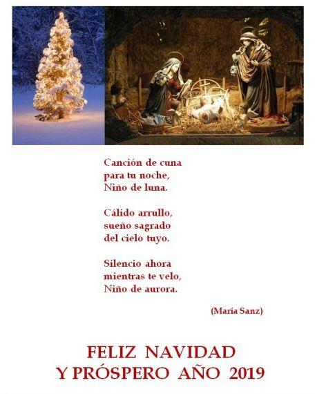 30 Poema y felicitación de María Sanz (España)