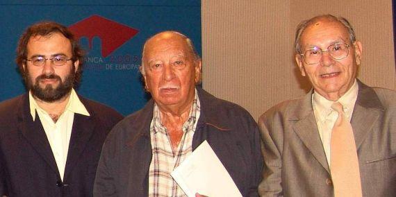 6 Alfredo Pérez Alencart, Pepe Ledesma y Andrés Quintanilla Buey (Salamanca 2006, Jacqueline Alencar)